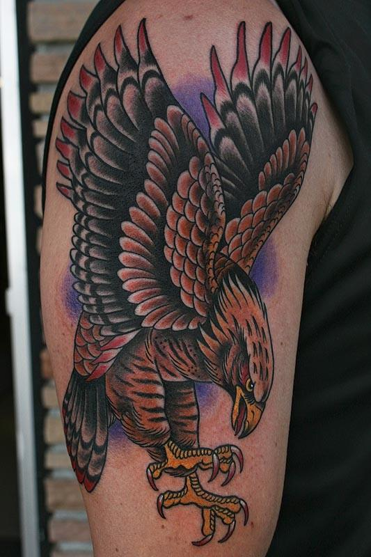 Tattoos By Stefan Johnsson Hawk