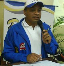 PRESIDENTE DEL COMITE ORGANIZADOR DE LOS X JUEGOS DEPORTIVOS NACIONALES DE PERIODISTAS