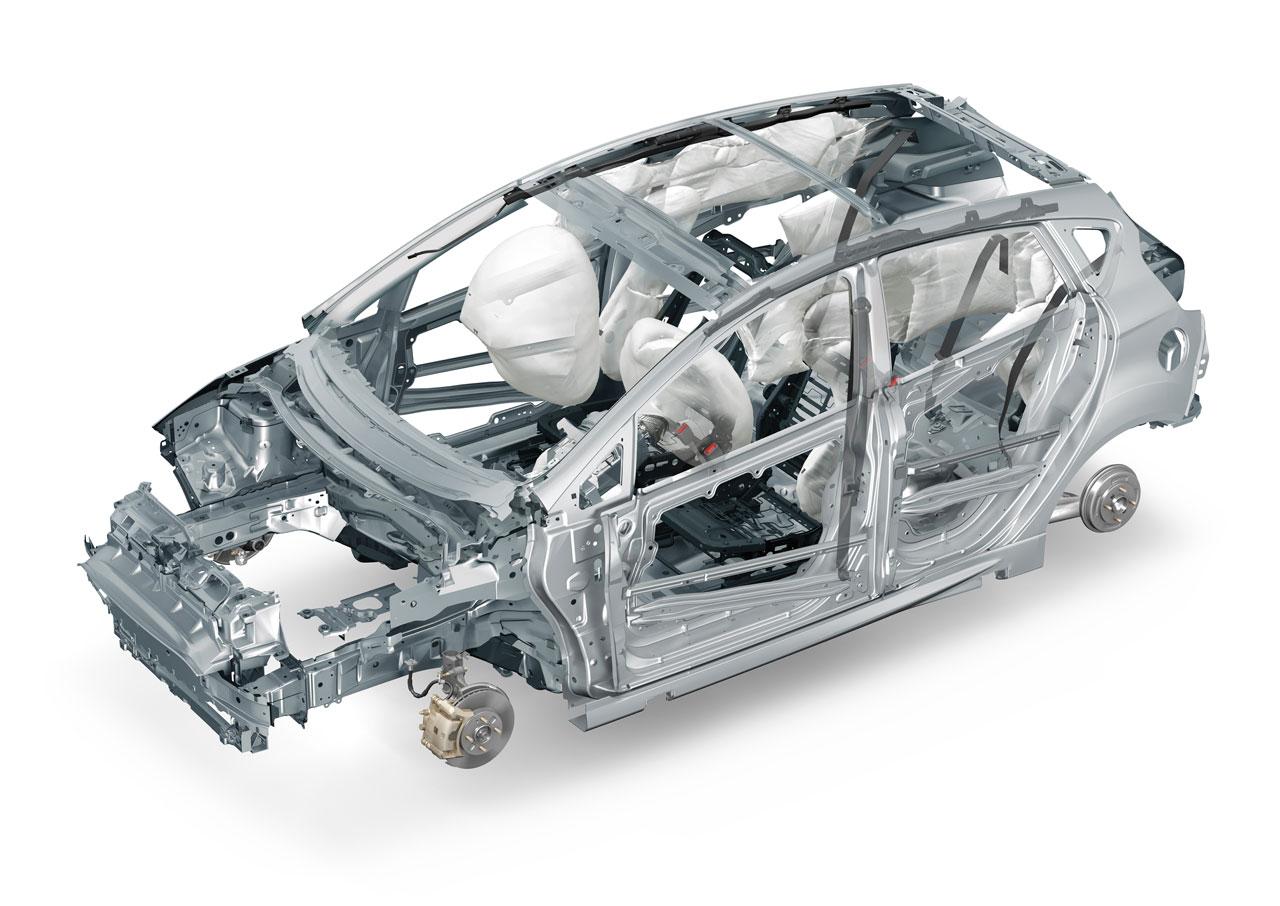 2011 Ford Fiesta Boron Body Cage Boron Extrication
