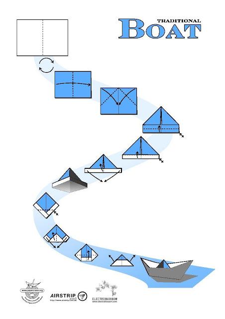 Как сделать кораблики из простой бумаги 367