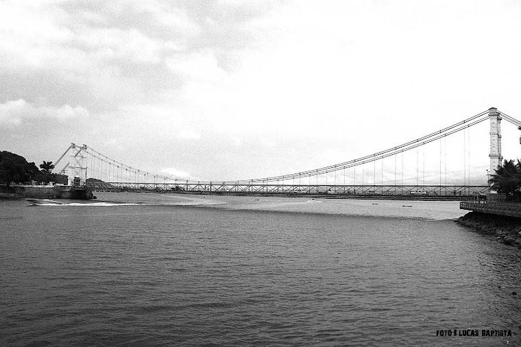 Ponte pênsil - São Vicente - SP