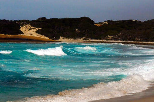 Waves on Esperance Beach