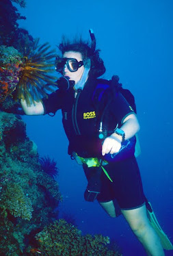 Diver with Feather Star #2