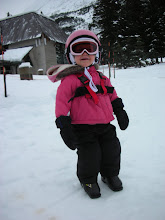 Lucy the skiier!
