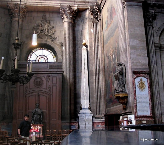 1 - Igreja de Saint Sulpice e o Obelisco