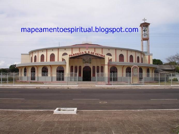 Daqui parte a procissão do Círio de Nazaré em Macapá.
