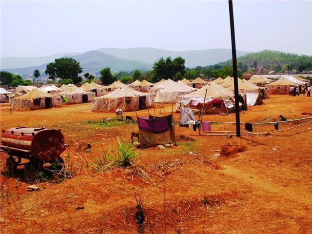 Índia acampamento