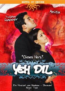 Yeh Dil (2003) - Tusshar Kapoor, Natassha, Jhony Nirmal