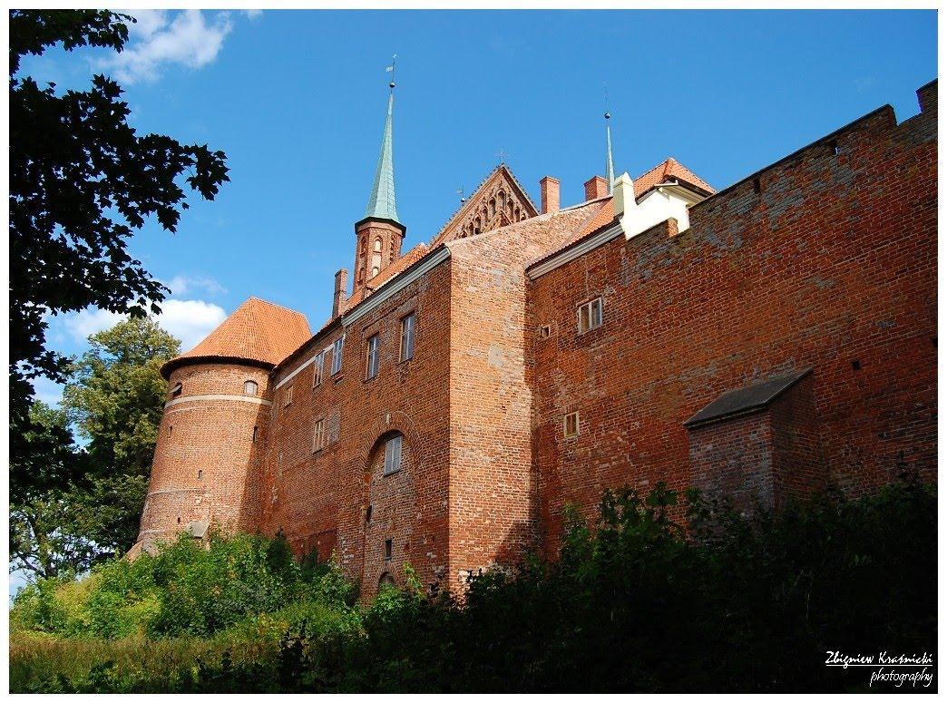 Frombork. Zamek kapituły warmińskiej