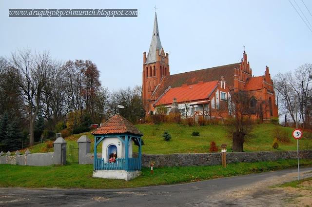 Brąswałd - wieś nad łąkami