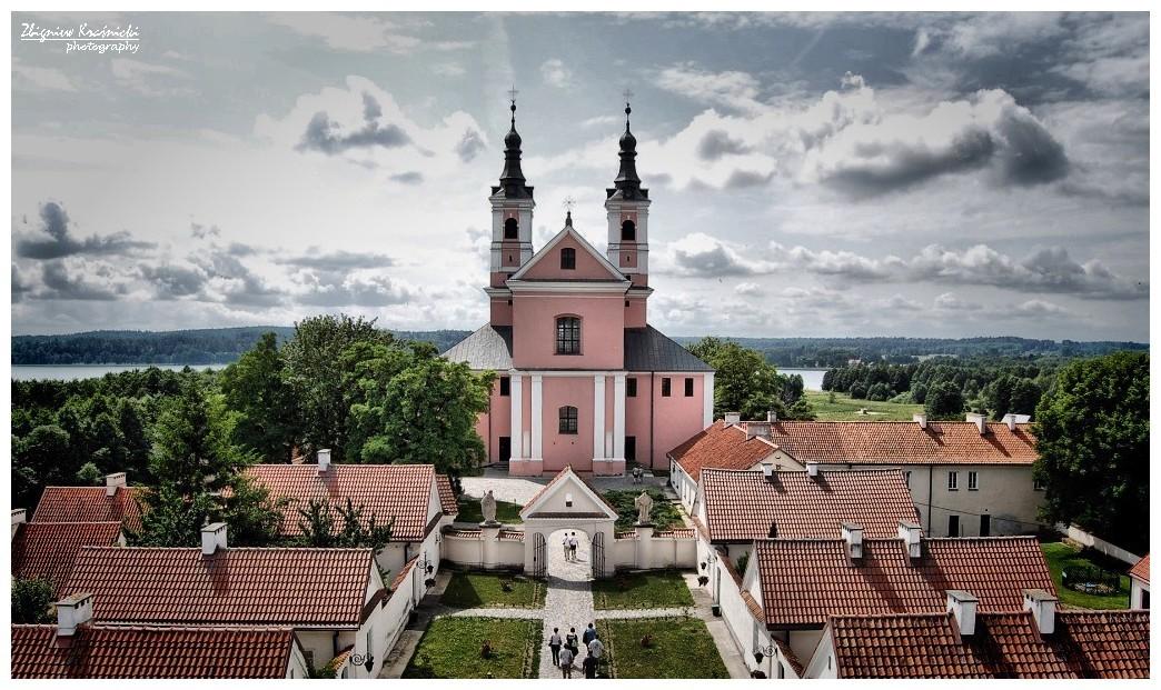 Wigry. Klasztor Kamedułów