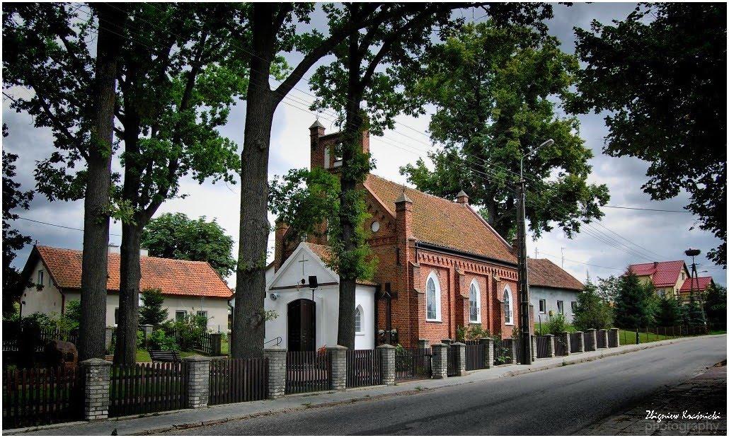 Kieźliny. Kościół p.w. św. Rozalii