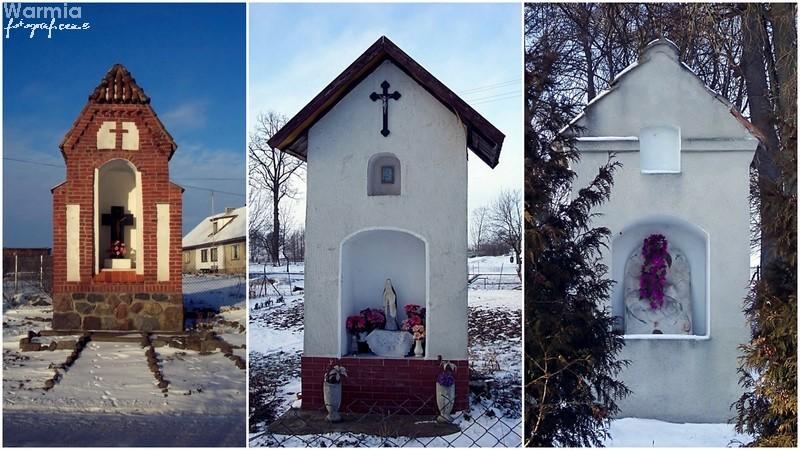 Okolice Pieniężna: kapliczki i kaplice Warmii