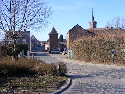 Haspengouw - Kerkom (Sint-Truiden): Katarakt landschap