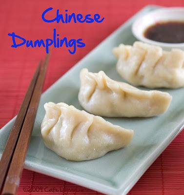 Chinese Dumplings-Daring Cooks Challenge