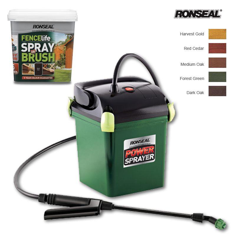 Cuprinol Fence Sprayer Usage guide