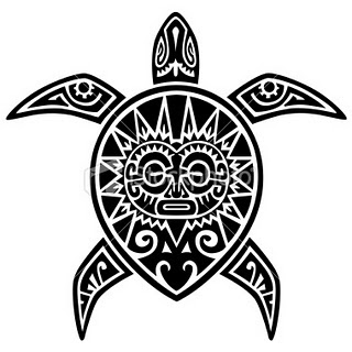 Japanese Turtle Tattoo Design