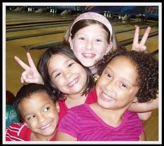 Noah, Cassidy (family friend), Alexandria & Anastasia