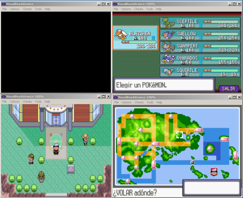 how to download pokemon games onto visual boy advance