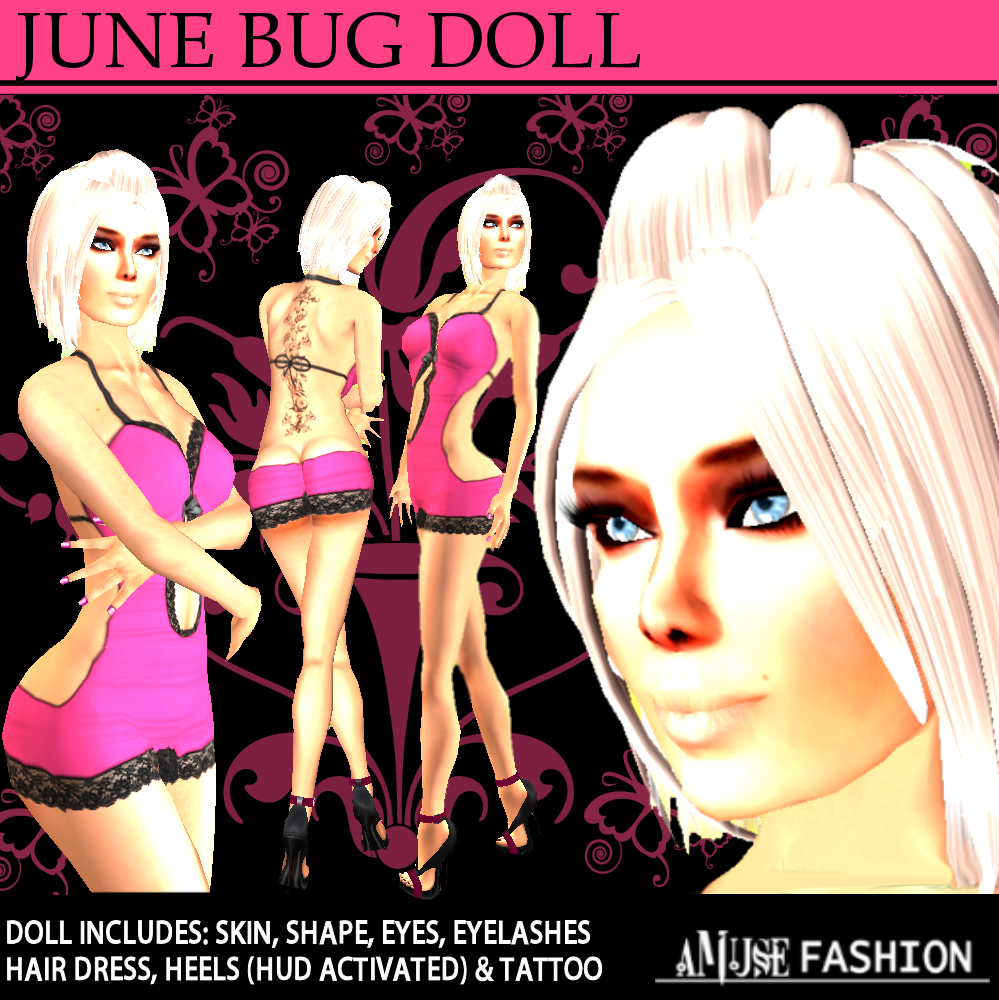 June Bug Tattoo June Bug Doll