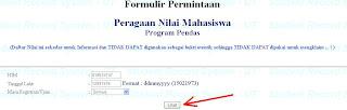 Cara melihat nilai UT (universitas terbuka) dengan cara online