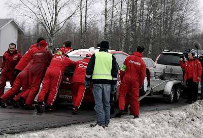 C4 Grand Picasso en el Rally de Suecia