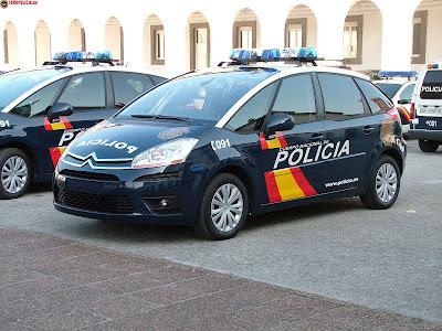 imagen c4 picasso policia