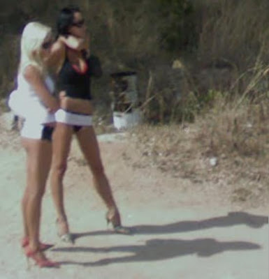 google street view chicas