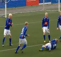 celebracion gol finlandia