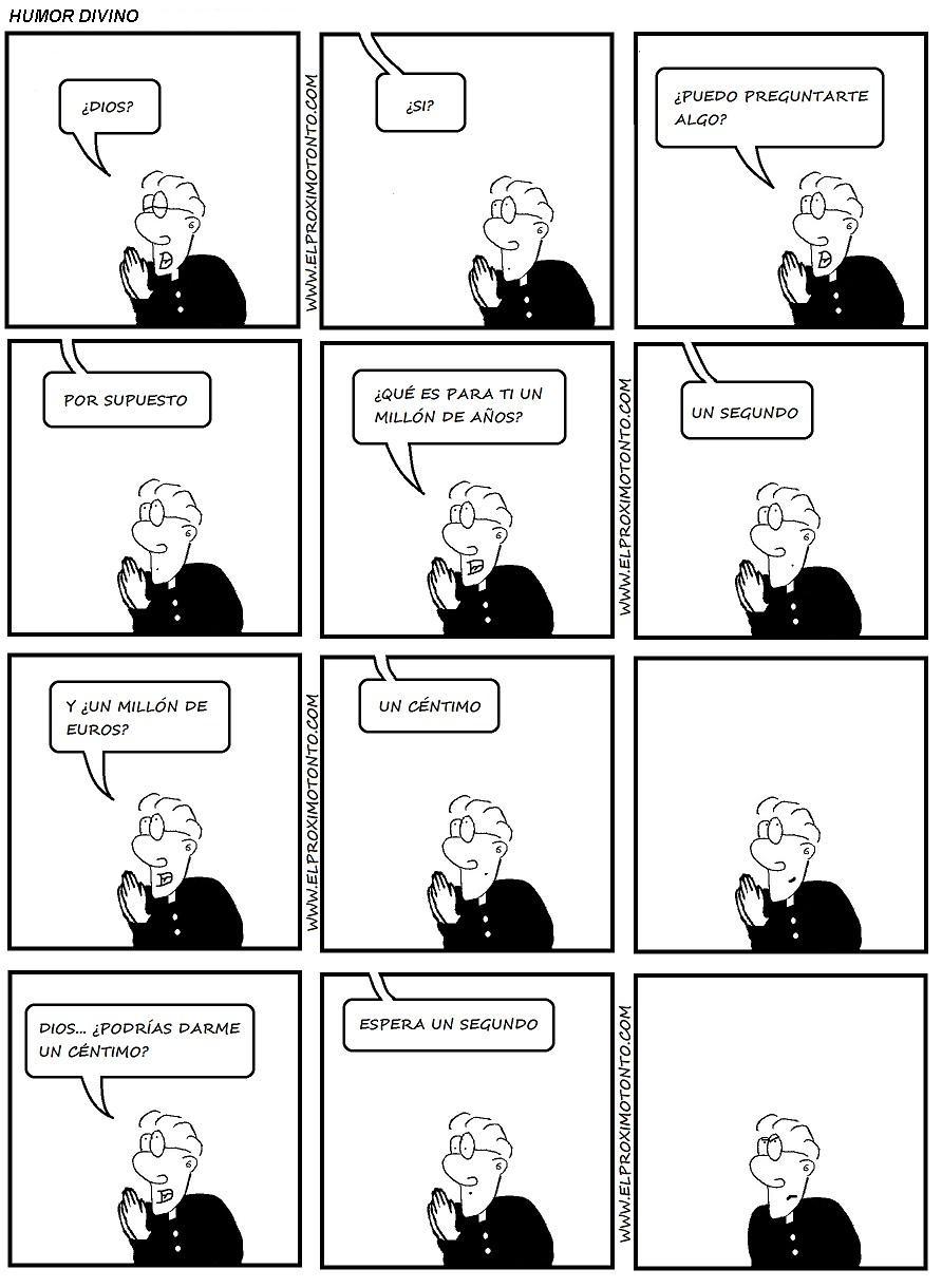 tira comica humor divino