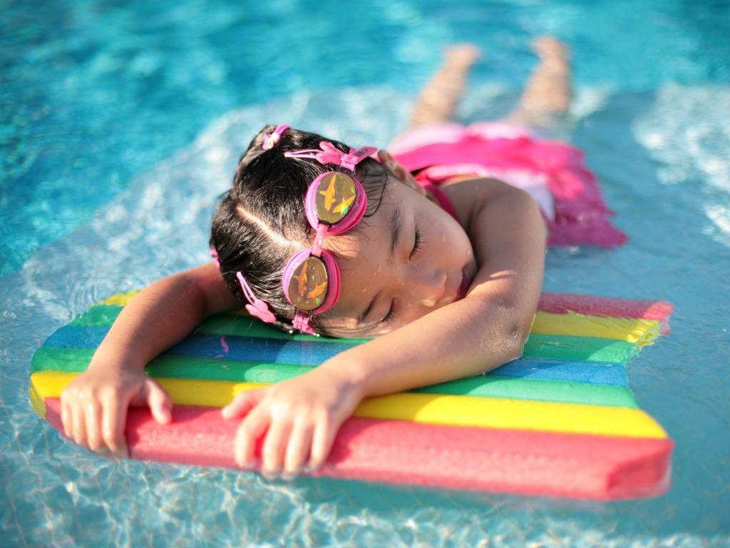 girl on swimming board Actual Bikinis   Actual Girls. Just not Finnegan's Girls.
