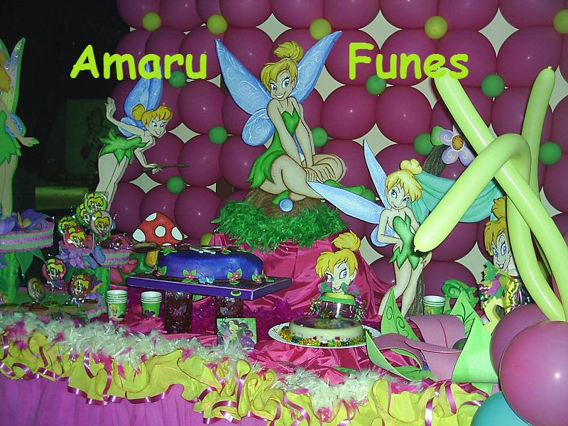 AMARU FUNES DECORACIONES: DECORACION BEN 10 Y CAMPANITA
