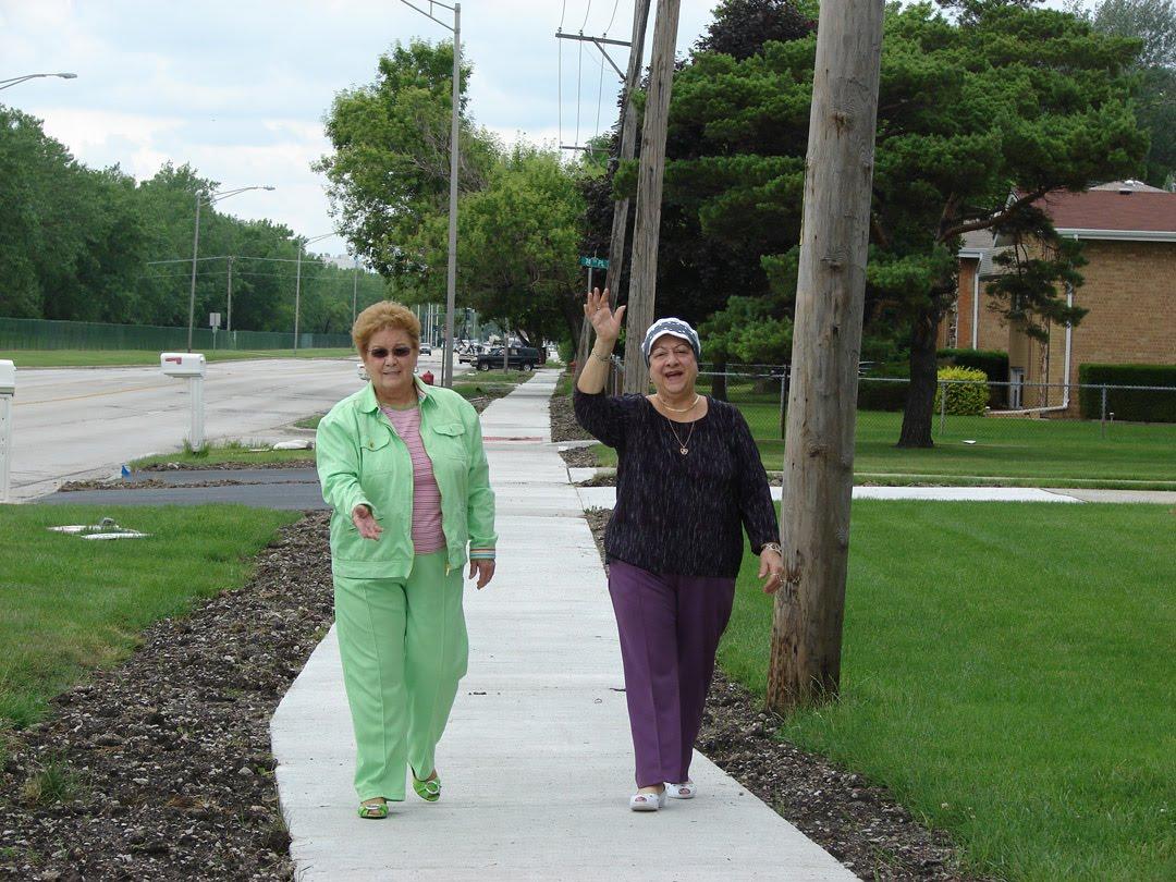 Trustees Norma Pinion (left)