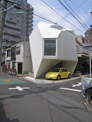 strange Japanese house