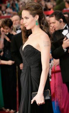 Angelina Jolie en los Oscar