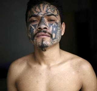 Gang Tattoos Especially Face Gangsta Tattoo Designs With Image Men With Face Gang Prison Tattoo Picture 7