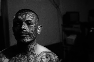 Gang Tattoos Especially Face Gangsta Tattoo Designs With Image Men With Face Gang Prison Tattoo Picture 6