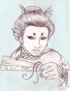 Beautiful Art of Japanese Tattoos With Image Japanese Geisha Tattoo Designs Picture 2