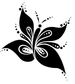 Tribal Butterfly Tattoo Design Picture 3