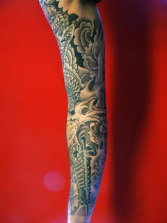Beautiful Art of Japanese Tattoos Especially Sleeve Tattoo Designs With Image Japanese Sleeve Tattoo Picture 5