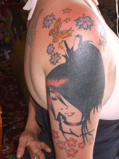 Shoulder Japanese Tattoos Especially Cherry Blossom Tattoo Designs With Image Shoulder Japanese Cherry Blossom Tattoo For Female Tattoos Gallery Picture 3