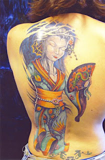 Back Piece Japanese Tattoos With Image Geisha Tattoo Designs Especially Back Piece Japanese Geisha Tattoos For Female Tattoo Gallery Picture 1