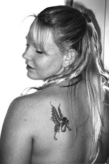 Small Tattoo Ideas With Fairy Tattoo Design With Image Upper Back Fairy Tattoo For Women Tattoo
