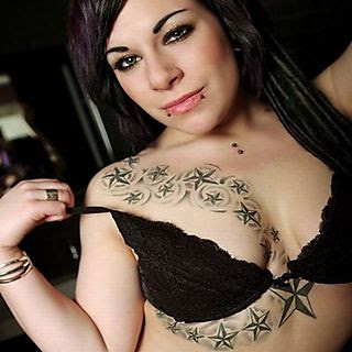 Chest Tattoo Picture With Star Tattoo Designs With Image chest Star Tattoo For Women Tattoo