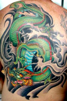Tatto Picture on Tattoo Ideas Especially Dragon Tattoo Designs With Picture Back Body