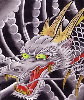 Japanese Dragon Tattoo Ideas With Japanese Head Dragon Tattoo Designs Gallery 5