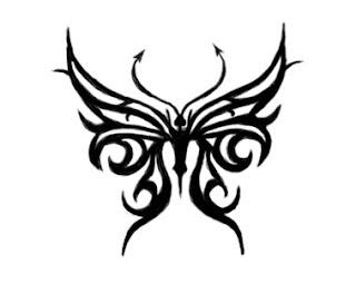 Tribal Tattoo Ideas Especially Butterflies Tattoo Designs With Picture Tribal Butterflies Tattoo Gallery 7