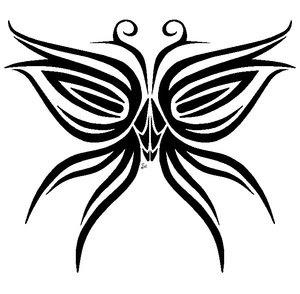 Tribal Tattoo Ideas Especially Butterflies Tattoo Designs With Picture Tribal Butterflies Tattoo Gallery 4