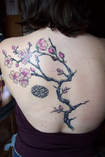 upper back tattoo gallery. Upper Back Japanese Tattoos