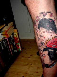 Cool Calf Tattoo Ideas With Japanese Tattoos Especially Geisha Tattoo Designs With Picture Calf Japanese Geisha Tattoo Gallery 5
